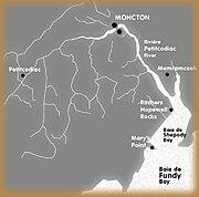 Petitcodiac-watershed-map