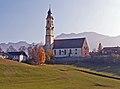 Pfronten - Berg - Striblweg Ri Pfarrkirche, Herbst 02.JPG