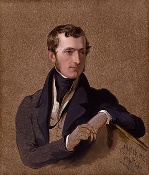 Philip Stanhope, 5th Earl Stanhope - Lord Stanhope by Sir George Hayter