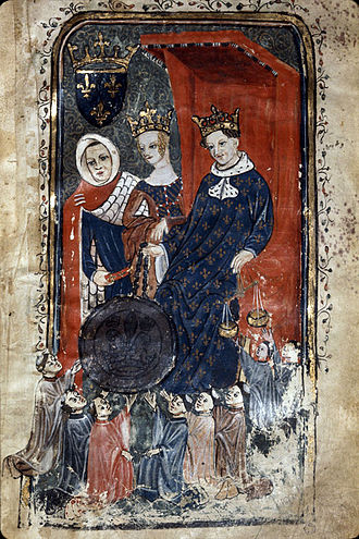 Philip VI of France - Philip VI and his first wife, Joan of Burgundy