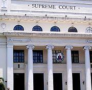 Oberster Gerichtshof der Philippinen in Manila