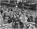 Photograph of President Truman preparing to throw out the first ball at the opening game of the 1951 baseball season... - NARA - 200292.jpg
