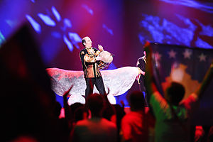 Azerbaijani folk music - Natig Shirinov's performing at Eurovision Song Contest 2012.