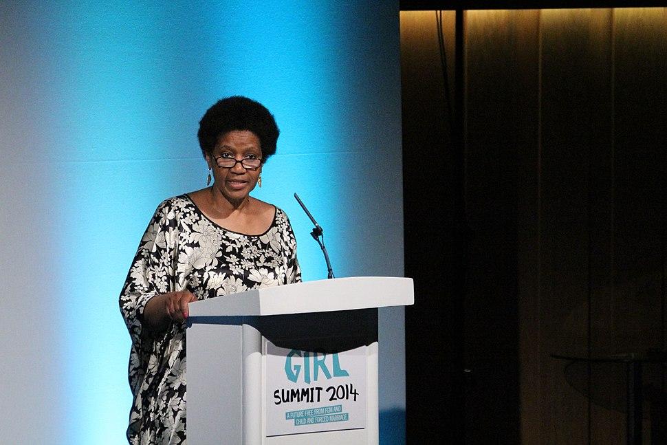 Phumzile Mlambo-Ngcuka, Executive Director, UN Women, speaking at Girl Summit 2014 (14538232760)