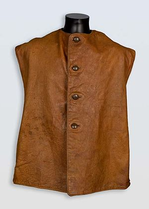 Jerkin (garment) - Jerkin worn by a British soldier at the Battle of the Somme