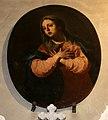 Pier franceso guala, tondi con apostoli e altri santi, 08 madonna annunciata.jpg