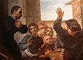 Pier leone ghezzi, miracolo di san filippo neri a vincenzo maria orsini futuro benedetto XIII (matelica, san filippo) 02.jpg