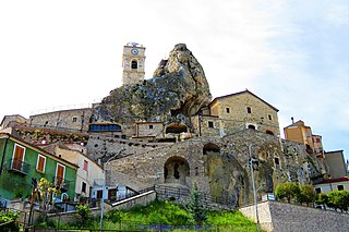 Pietracupa Comune in Molise, Italy