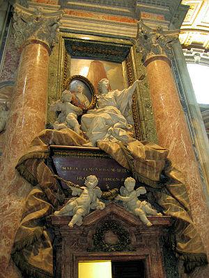 Pietro Bracci - The Sobieski tomb