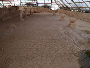Monastery of Martyrius - Mosaic floor, Monastery of Martyrius
