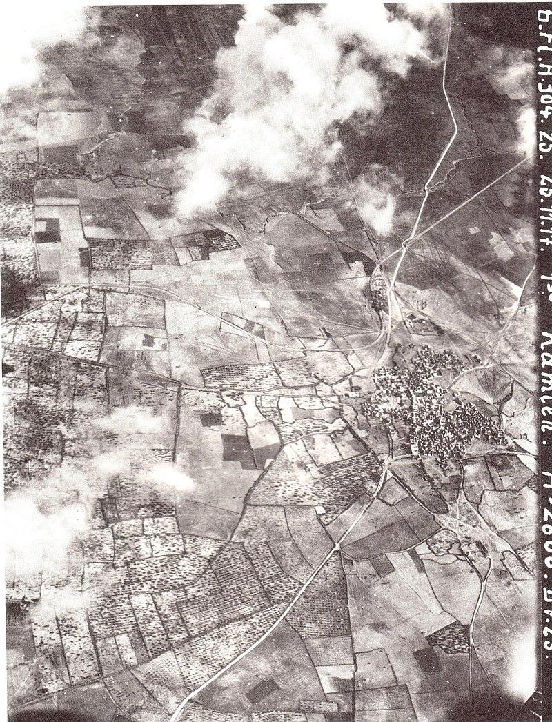 טיסת צילום מעל רמלה 1918