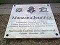 Placa Manzana Jesuítica 2009-03-23.jpg