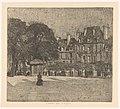 Place des Vosges in Parijs, RP-P-1931-1519.jpg