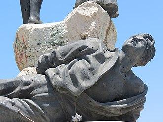 Martyrs' Monument, Beirut - Image: Place des martyrs, Beirut, Monument 2016 4