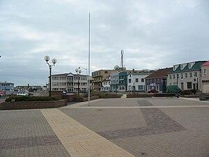 Saint-Pierre, Saint Pierre and Miquelon - Image: Place du General de Gaulle square, St Pierre