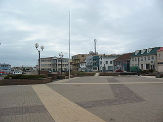Saint-Pierre, Saint Pierre and Miquelon - Image: Place du General de Gaulle square, St Pierre