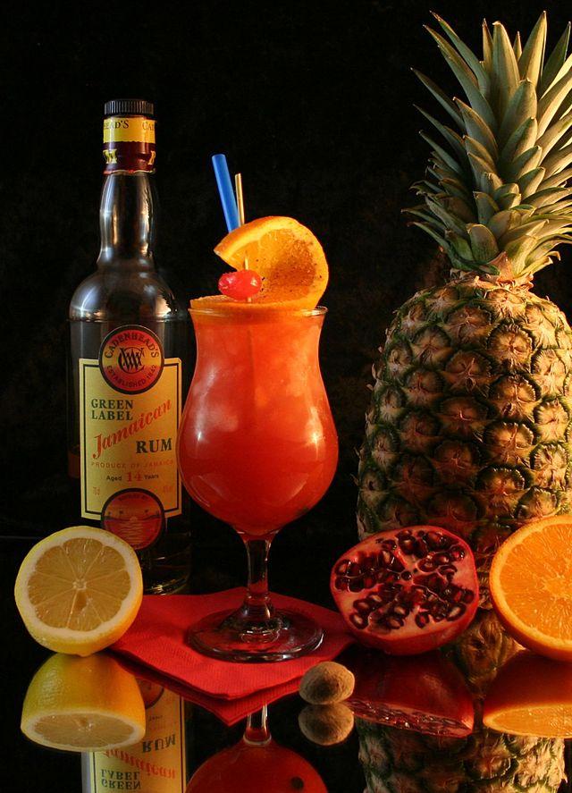 Un cocktail punch