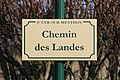 Plaque chemin Landes St Cyr Menthon 6.jpg