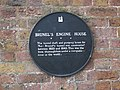 Plaque on Brunel's Engine House - geograph.org.uk - 1085883.jpg