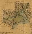 Plat map on St. John's River, Duval County, Florida on 5 May 1830, from- McIntosh, John H. (4787077188) (cropped).jpg
