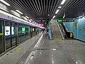 Platform of Line 11 in Miaoling Road Station.jpg