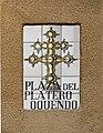 Plaza del Platero Oquendo sign Segovia.jpg