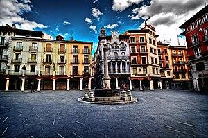 Teruel - Plaza del Torico.