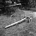 Plužna dolžina od blazine (osi) 1,53m, višina kambe 42cm, Gradenc, pri Vedeževih 1957.jpg