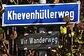 Poertschach Khevenhuellerweg Strassenschild 08112012 039.jpg