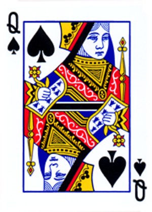 The Queen of Spades (opera) - Image: Poker sm 213 Qs