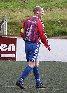 Pól Thorsteinsson Danish footballer