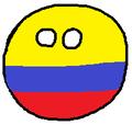 Polandball colombiano.png