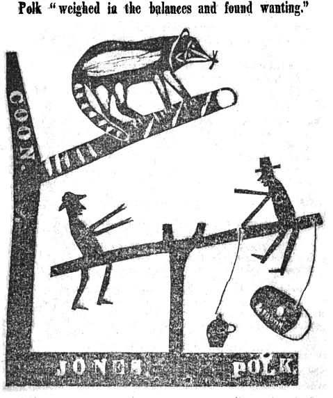 Political Register 1844 James Polk James Jones