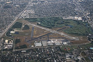Pompano Beach Airpark airport in Broward County, United States of America