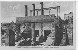 Restes d'una fullonica a Pompeia