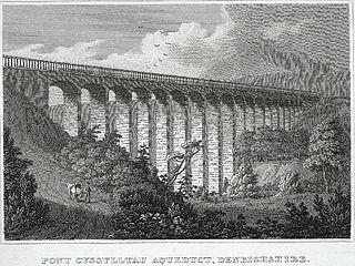 Pont Cyssylltau aqueduct, Denbighshire