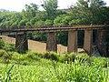 Ponte na Barragem da Fazenda Leopoldina, limite dos municípios de Capivari e Rafard - panoramio (1).jpg