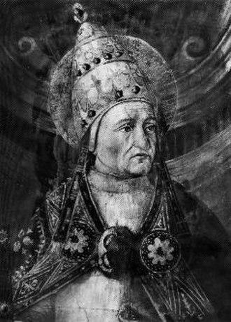 Pope Felix I - Pope Felix I fresco in Sistine Chapel