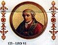 Pope Leo VI of Rome 928-929.jpg