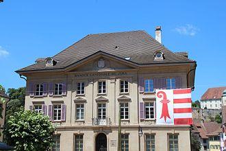 Banque cantonale du Jura - Image: Porrentruy Banque Jura