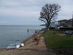 Port La Salle, Bouldnor, Isle of Wight, UK.jpg