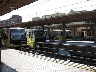 Rome–Lido railway - Image: Porta San Paolo