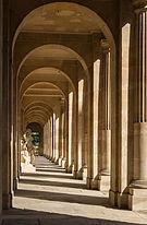 Portico gallery perspective École Militaire Cour d'Honneur Paris.jpg