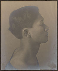 Portrait of Hawaiian boy titled 'The Athlete' (profile) 1909.jpg