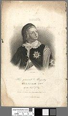 His present Majesty William IVth