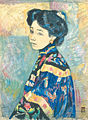 Portrait of a Woman by Fujishima Takeji.jpg