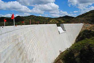 Portugués Dam - Portugues Dam in 2014