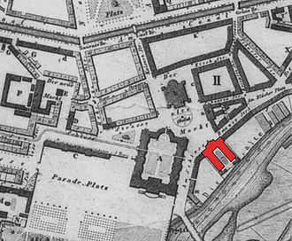 August Heinrich Petermann - Image: Potsdam 1850 detail