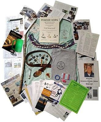 Powder Horn (Boy Scouts of America) - Image: Powder Horn (Boy Scouts of America) Miscellaneous Gear