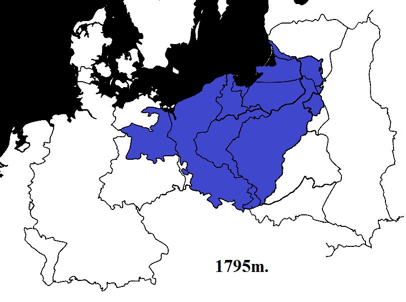 Prūsija 1795m